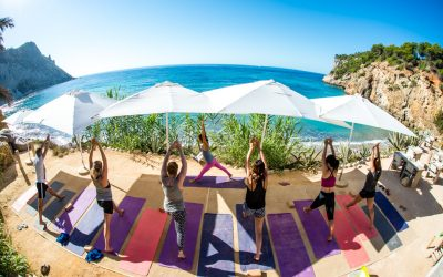 YOGA DAY IN AMANTE BEACH IBIZA